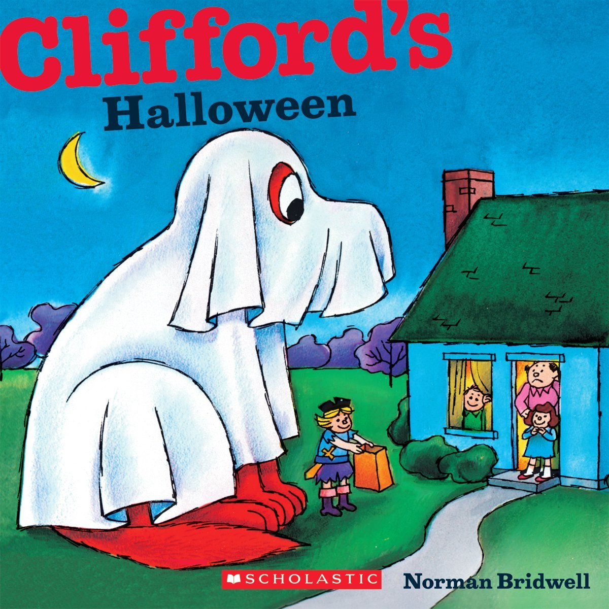 cliffords halloween book