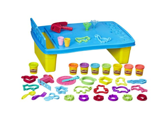 The Play Doh N Store Table Is A Great Gift For Toddlers