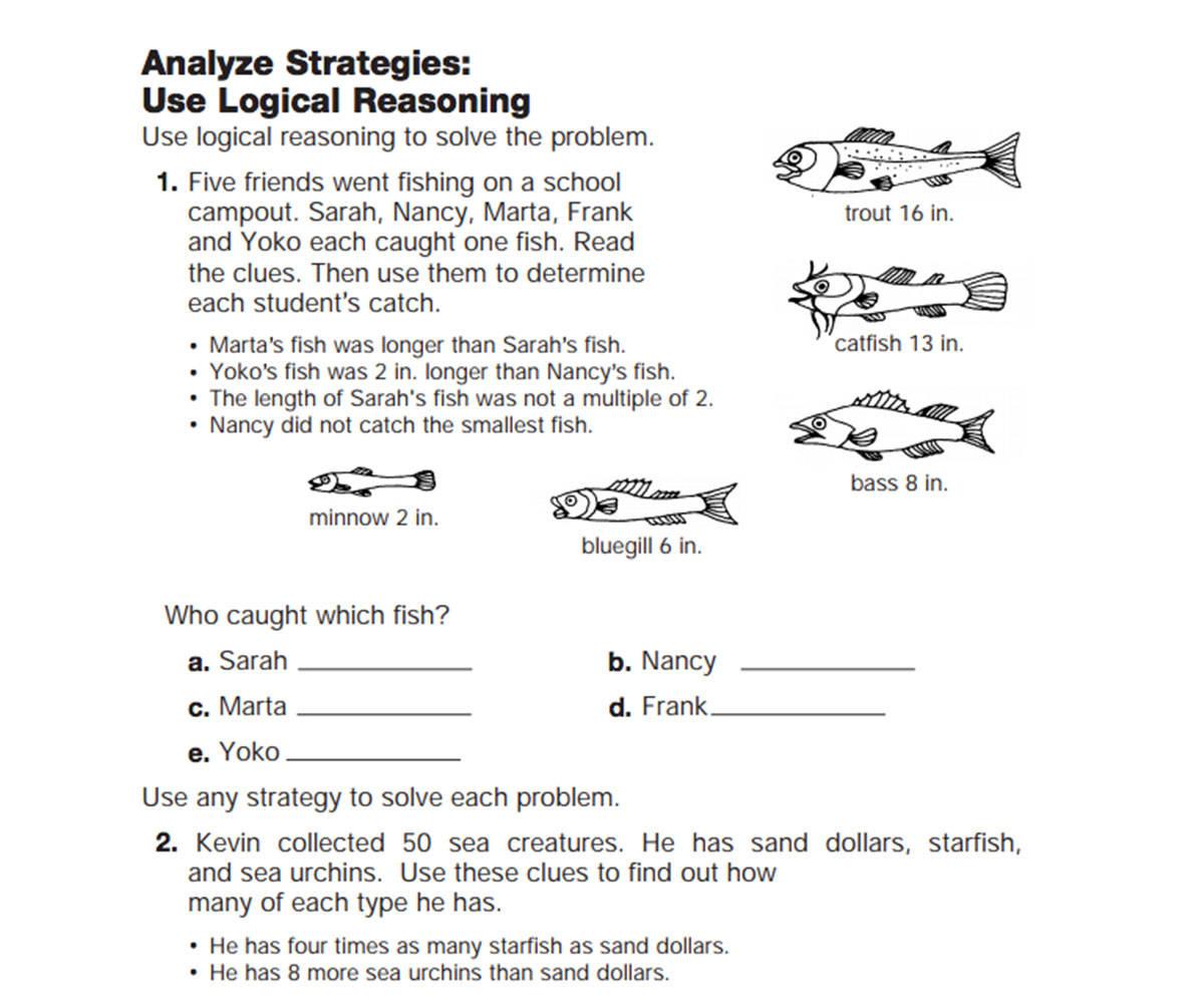Use Logical Reasoning - FamilyEducation