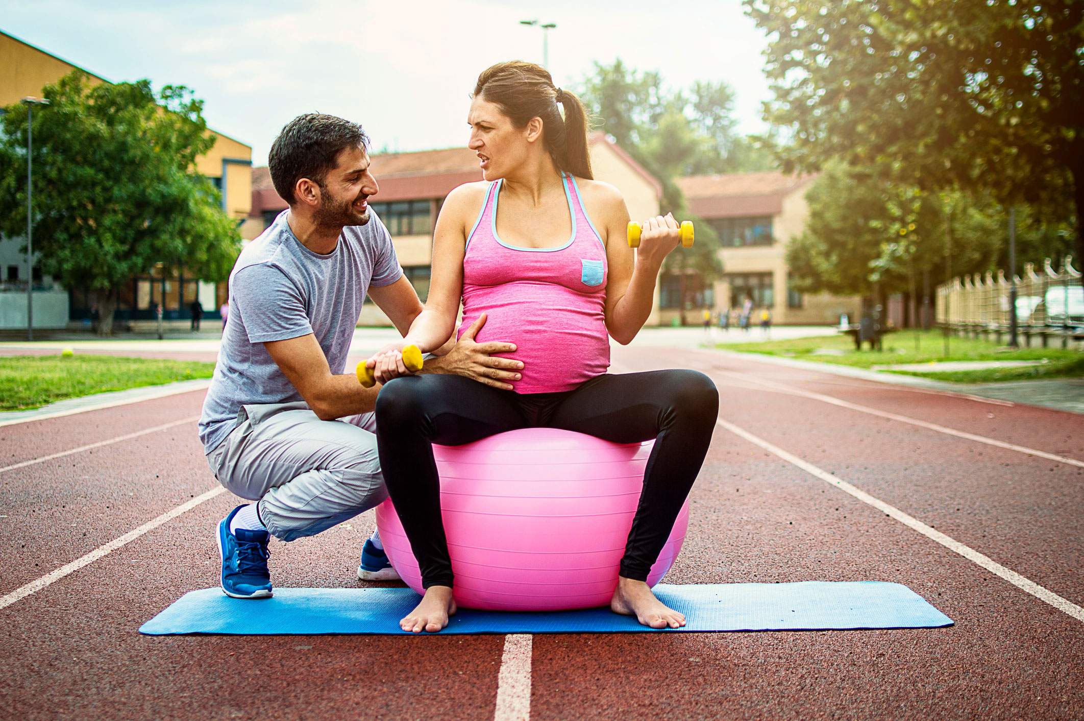 Simple Exercises You Can Do With Your Pregnant Partner Familyeducation
