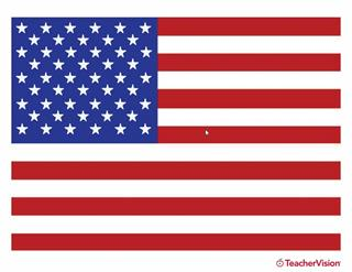 American Flag Printable In Color Familyeducation