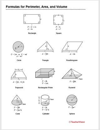 Formulas for Perimeter, Area, and Volume - FamilyEducation