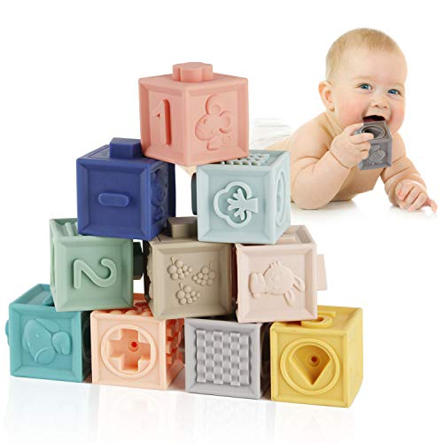 Hard to get Wooden Blocks in Bucket Building Toy for