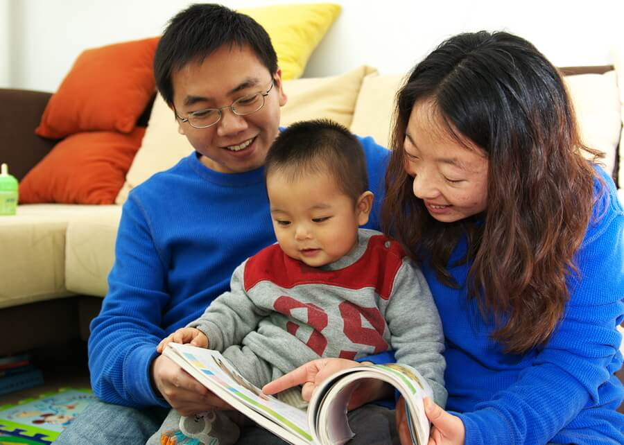 Image result for parents reading to babies