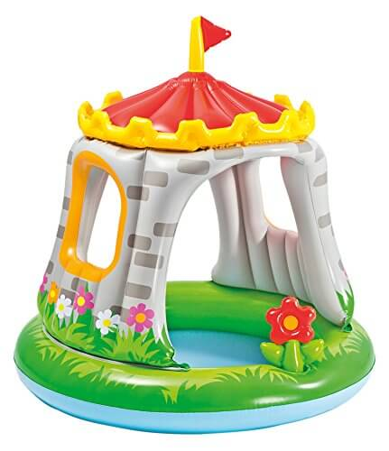 Castle Shaded Baby Pool - Best Outdoor Toys For Toddlers And Kids - FamilyEducation