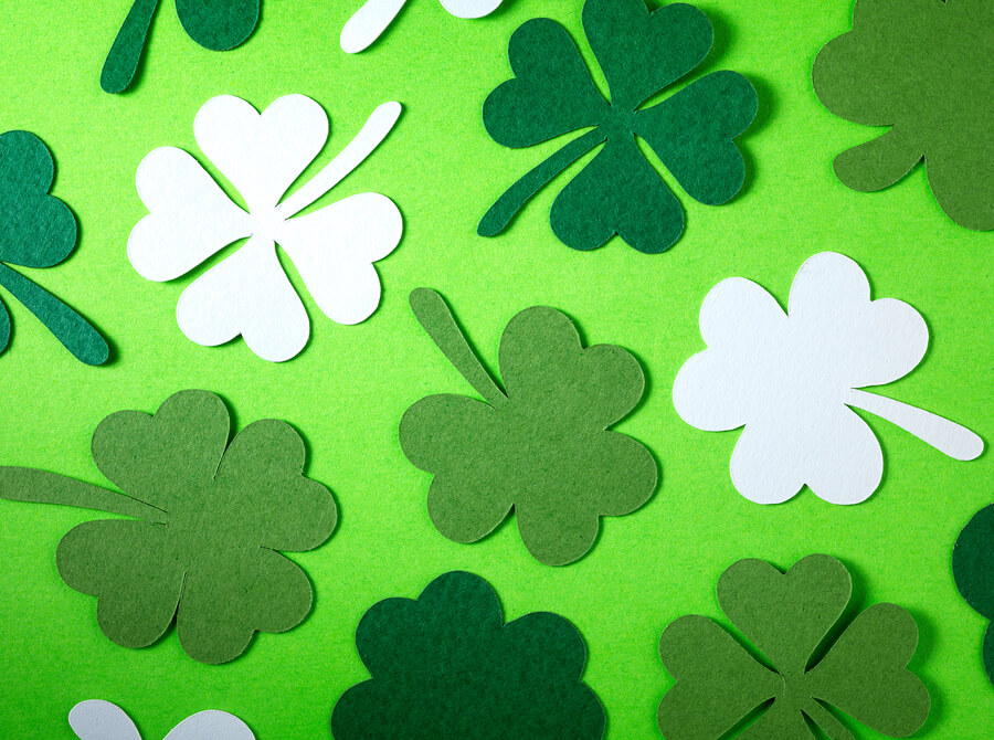 St. Patrick's Day craft materials