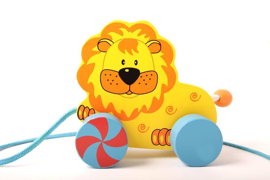 baby activities, pull toy