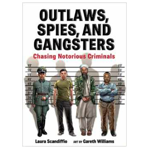Outlaws Spies and Gangsters, children's book