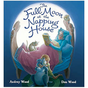 Full Moon at the Napping House Book