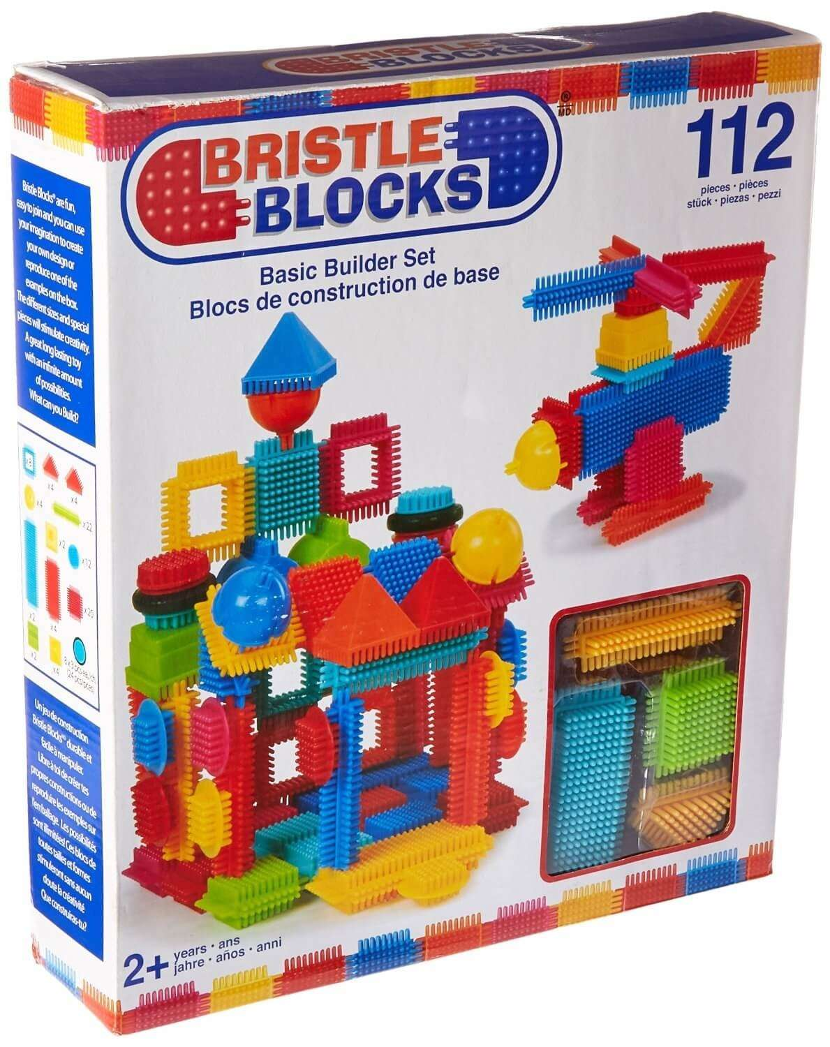 Craft sets for kids - Bristle Building Blocks Have Become A Classic Builder Set Because Kids Can Stack Them Like Regular Blocks And The Bristles Allow Kids To Connect The Blocks
