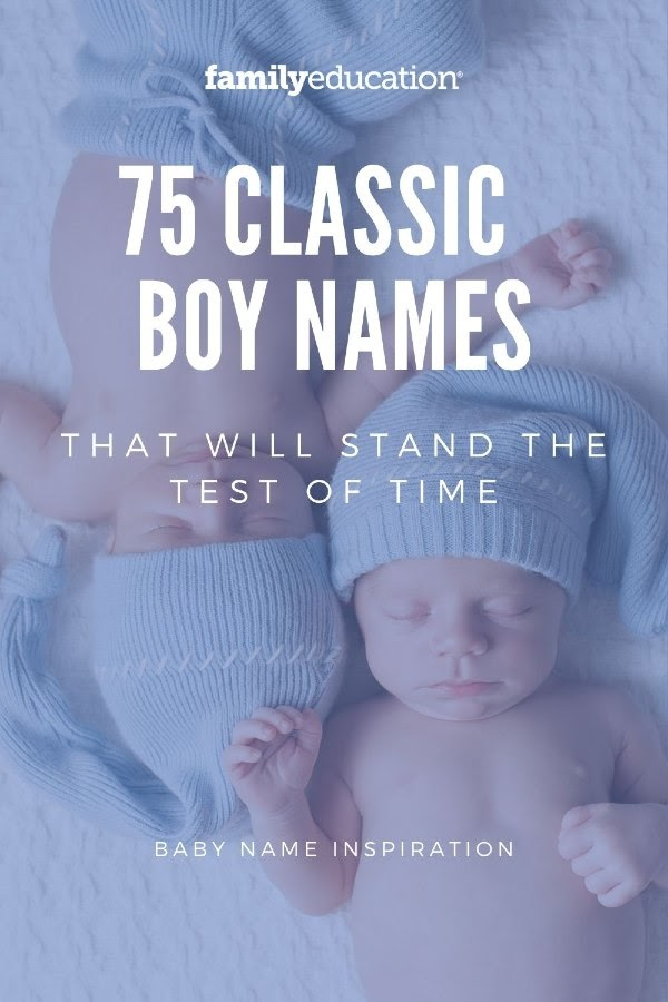 26+ Boy names from classic movies information