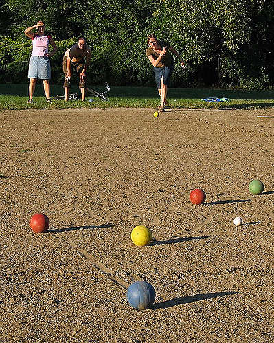 Bocce Is A Classic Outdoor Game With Roots In The Roman Empire! It Can Be  Played On Grass Or On The Beach (damp, Firm Sand Works Best).