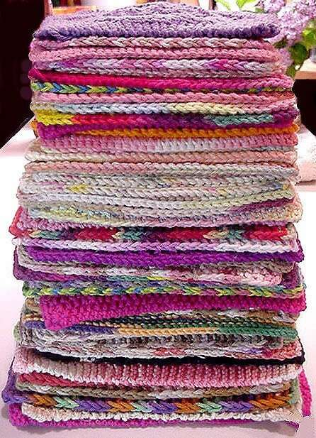Going Green Stack of Washcloths