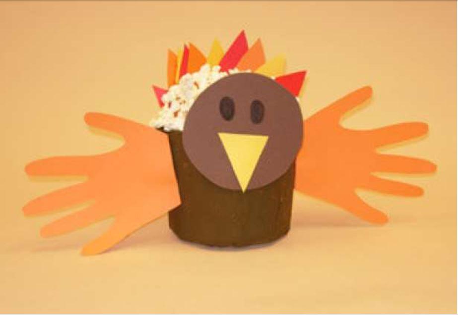 Wonderful Thanksgiving Craft Part - 13: Turkey Bowl Thanksgiving Turkey Bowl
