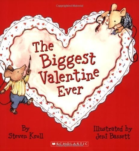 the biggest valentine ever book cover