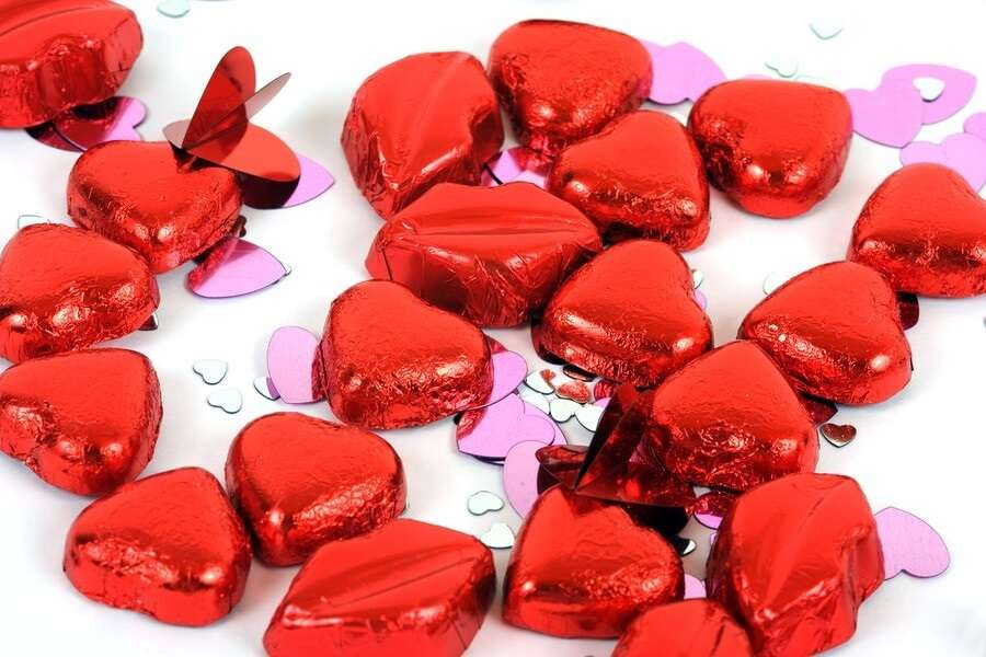 Chocolate Valentineu0027s Day Candies