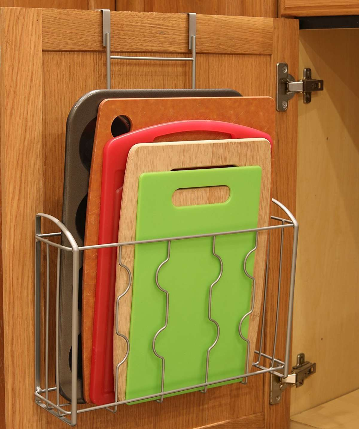 Over The Cabinet Kitchen Storage For Cutting Boards