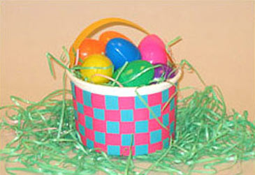 10 cute easter crafts for kids familyeducation easy easter baskets negle Images