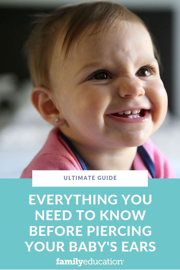 Everything You Need to Know Before Piercing Your Baby's ...