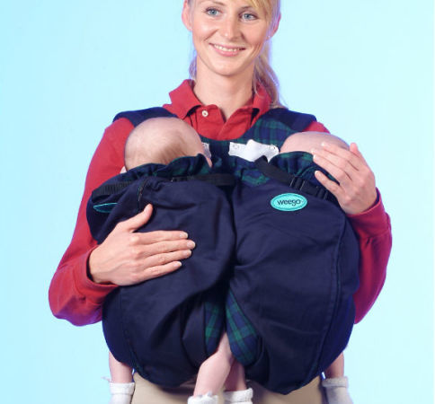 Baby Shower Gifts For Twins   Twins Baby Carrier