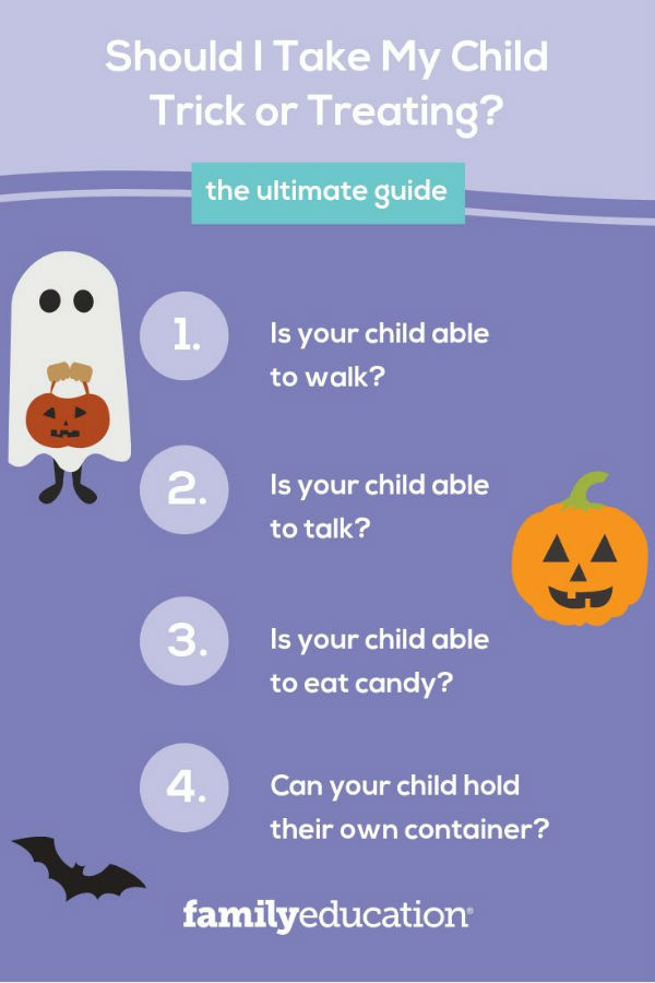 Is It Okay To Take My Baby Trick Or Treating Familyeducation