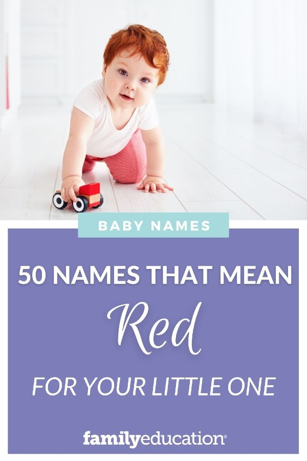 20++ Boy names mean red ideas