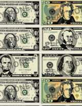 picture about Printable 100 Dollar Bill Actual Size named Cost-free Printable Perform Cash - FamilyEducation
