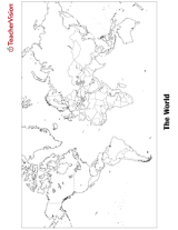 Blank Map of the World | Printable PDF - FamilyEducation