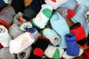 Pile of Baby Socks