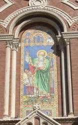 Mural of Saint Patrick