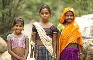 Young Hindu Girls