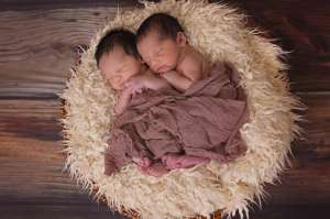 Having twins has its sweet moments and its challenges
