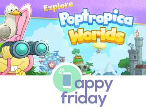 Poptropica Worlds is a great free educational app for kids