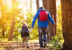 hiking tips for families with toddlers