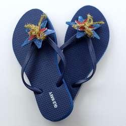 Patriotic Flip Flops Craft