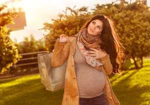 Pregnancy fall fashion