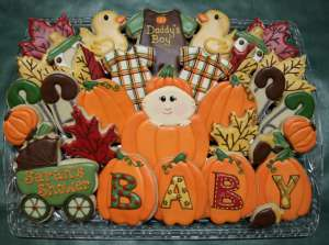 fall themed baby shower ideas