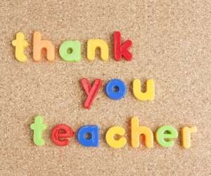 Teacher Appreciation Week Thank You