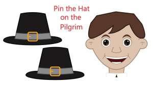Pin the hat on the Pilgrim