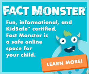 Fact Monster, a safe space for kids to find homework help