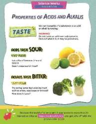 Acids and Alkalis: You Can Tell by the Taste Activity