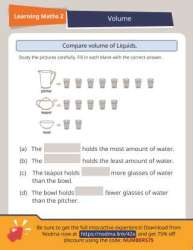 2nd Grade Math: Comparing Volume of Liquids