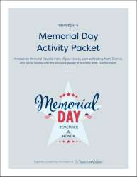Memorial Day Activity Packet from TeacherVision