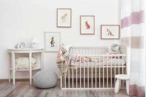 Modern interior of child