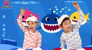 screenshot of viral video baby shark