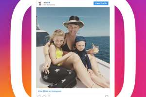Pink and kids on Instagram