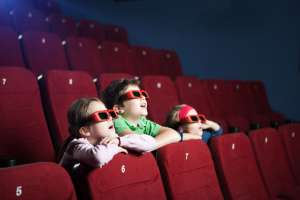 kids taking advantage of amc summer movie discount