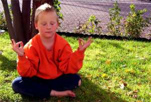 Boy, Meditation, Yoga