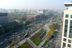 Beijing, China streets