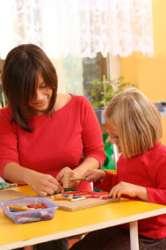 Preschooler,woodenblocks,younggirl